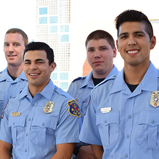 New Fire Fighters
